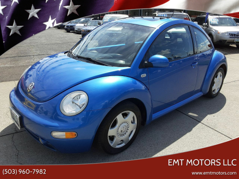 2001 Volkswagen New Beetle GLS TDi for sale at EMT MOTORS LLC in Portland OR