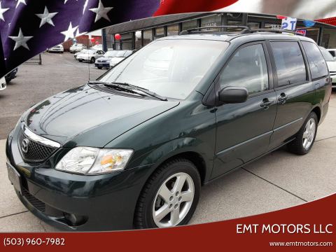 2002 Mazda MPV ES for sale at EMT MOTORS LLC in Portland OR