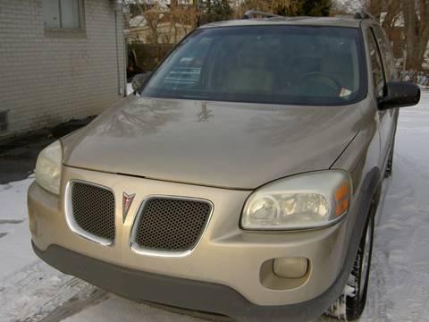 2006 Pontiac Montana SV6 for sale in Detroit, MI