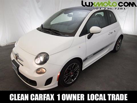2015 FIAT 500c for sale in Portland, OR