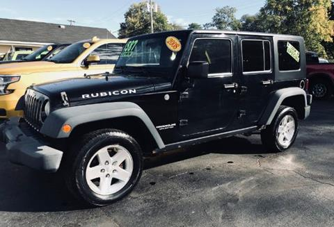 2008 Jeep Wrangler Unlimited for sale in Richmond, IN