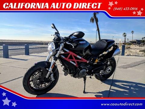 2012 Ducati Monster for sale in Costa Mesa, CA