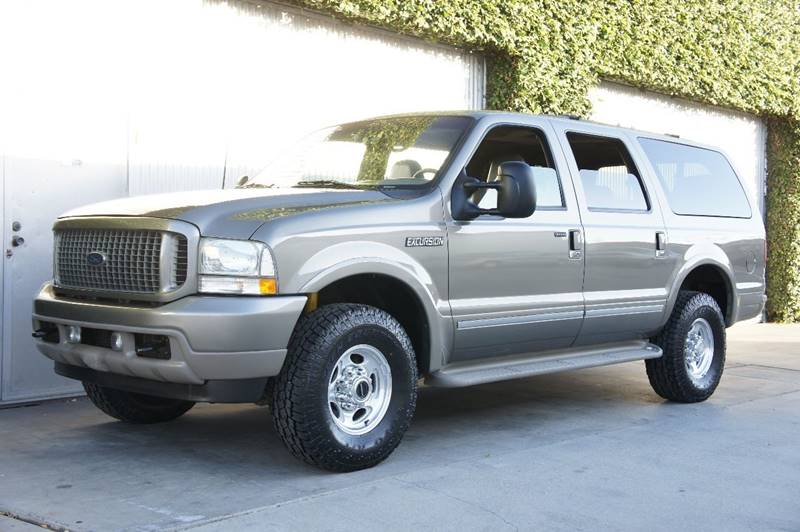 Ford Excursion Limited In Costa Mesa CA CALIFORNIA AUTO DIRECT - 2002 excursion