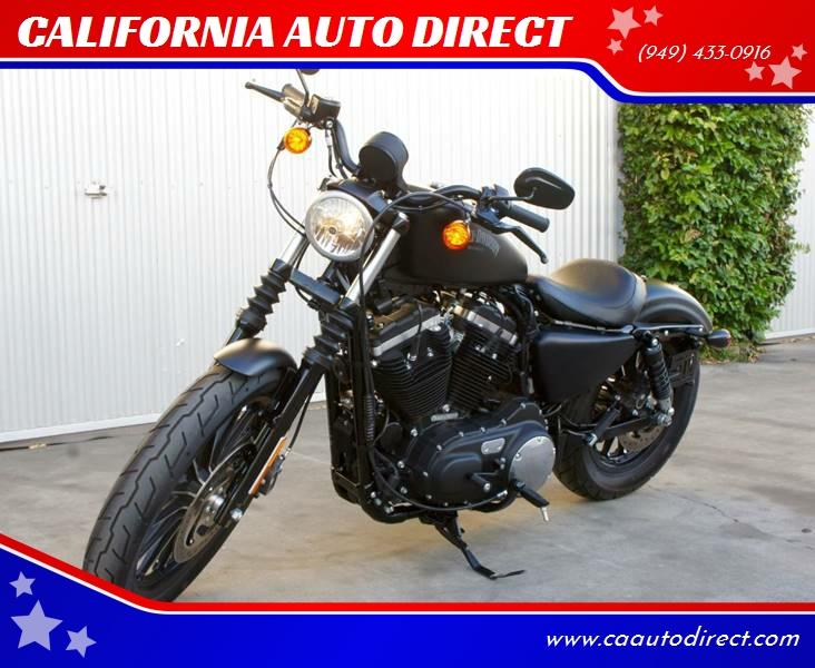 2015 Harley-Davidson IRON 883 XL for sale at CALIFORNIA AUTO DIRECT in Costa Mesa CA