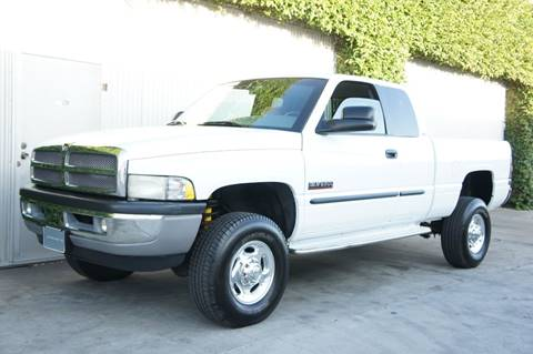 2001 Dodge Ram Pickup 2500 for sale at CALIFORNIA AUTO DIRECT in Costa Mesa CA