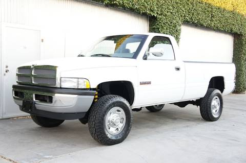 1995 Dodge Ram Pickup 2500 for sale at CALIFORNIA AUTO DIRECT in Costa Mesa CA