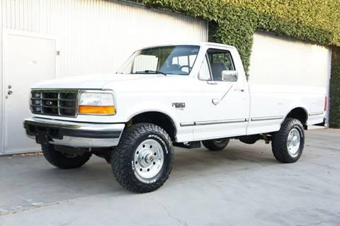 1995 Ford F-250 for sale at CALIFORNIA AUTO DIRECT in Costa Mesa CA