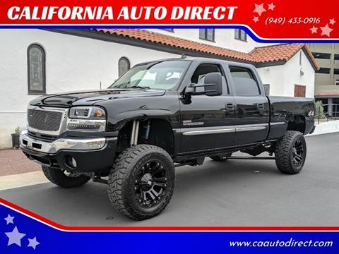2006 GMC Sierra 2500HD for sale at CALIFORNIA AUTO DIRECT in Costa Mesa CA