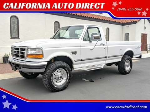 1997 Ford F-250 for sale at CALIFORNIA AUTO DIRECT in Costa Mesa CA