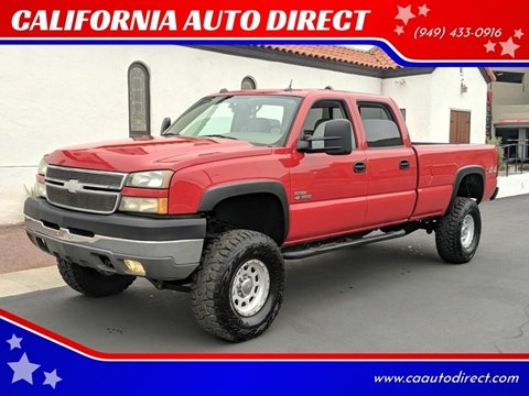 2005 Chevrolet Silverado 3500 for sale at CALIFORNIA AUTO DIRECT in Costa Mesa CA