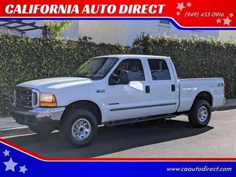 2000 Ford F-250 Super Duty for sale at CALIFORNIA AUTO DIRECT in Costa Mesa CA