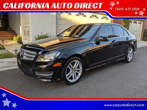 2013 Mercedes-Benz C-Class for sale at CALIFORNIA AUTO DIRECT in Costa Mesa CA