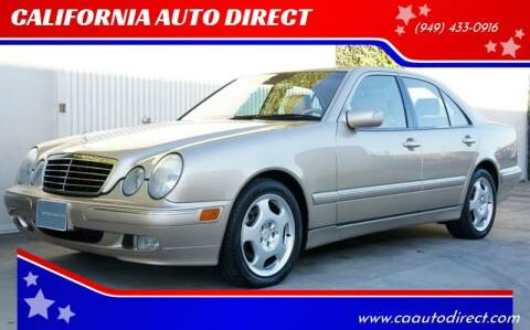 2002 Mercedes-Benz E-Class for sale at CALIFORNIA AUTO DIRECT in Costa Mesa CA
