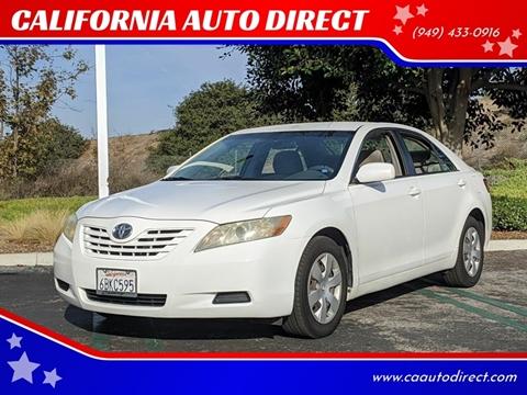 2008 Toyota Camry for sale at CALIFORNIA AUTO DIRECT in Costa Mesa CA