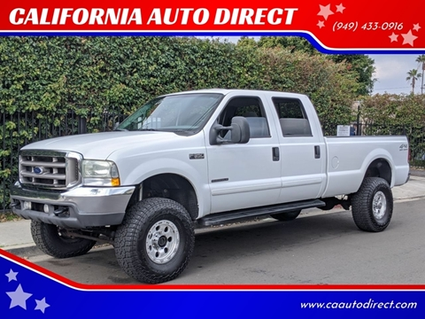 2002 Ford F-350 Super Duty for sale at CALIFORNIA AUTO DIRECT in Costa Mesa CA