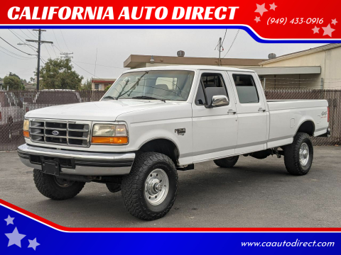 1997 Ford F-350 for sale at CALIFORNIA AUTO DIRECT in Costa Mesa CA
