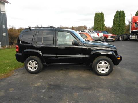 2004 Jeep Liberty for sale at Vicki Brouwer Autos Inc. in North Rose NY