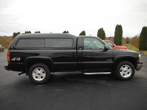 2002 Chevrolet Silverado 1500 for sale at Vicki Brouwer Autos Inc. in North Rose NY