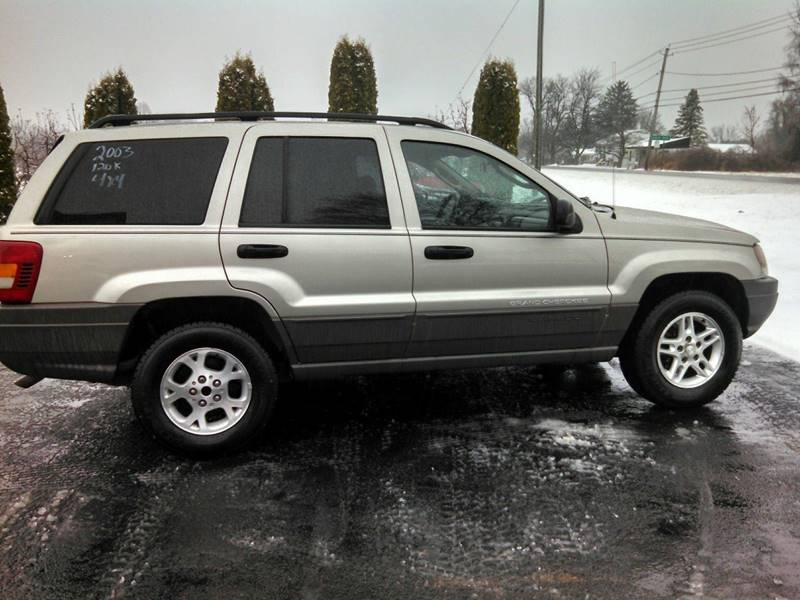 2003 Jeep Grand Cherokee for sale at Vicki Brouwer Autos Inc. in North Rose NY