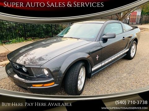 2007 Ford Mustang for sale in Fredericksburg, VA