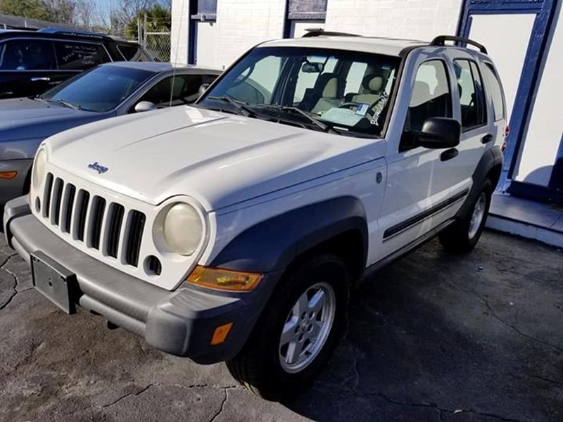 2007 Jeep Liberty For Sale At MILLER AUTOMOTIVE In Jacksonville FL