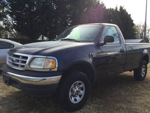 1999 Ford F-250 for sale at Burton's Automotive in Fredericksburg VA
