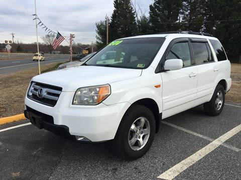 2007 Honda Pilot for sale at Burton's Automotive in Fredericksburg VA