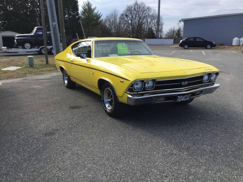 1969 Chevrolet Chevelle for sale at Burton's Automotive in Fredericksburg VA