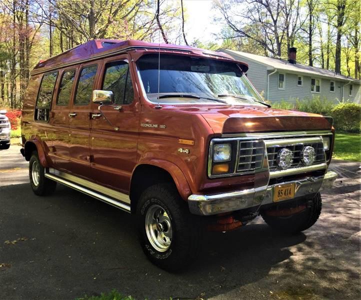 1985 Ford E 150 3dr Econoline Extended Cargo Van