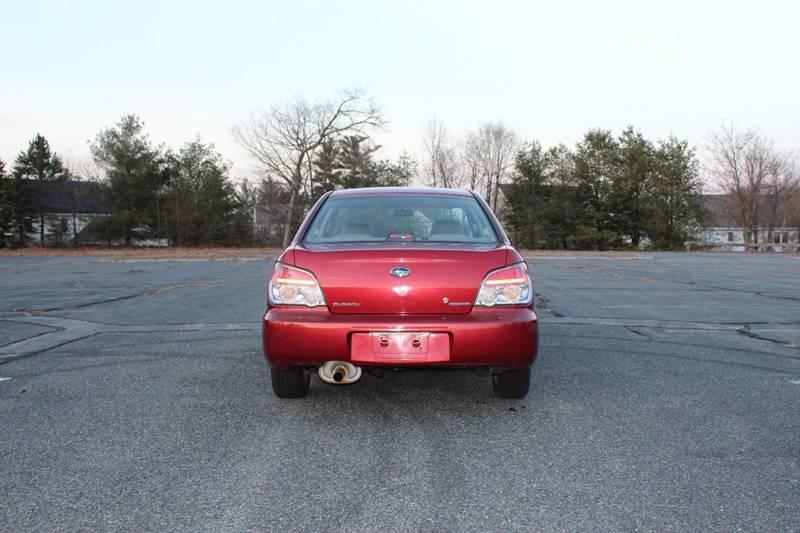 2007 Subaru Impreza 2.5 i In Maynard MA - S