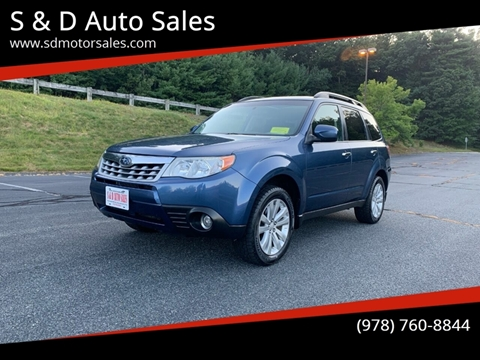 2011 Subaru Forester 2.5X Premium for sale at S & D Auto Sales in Maynard MA