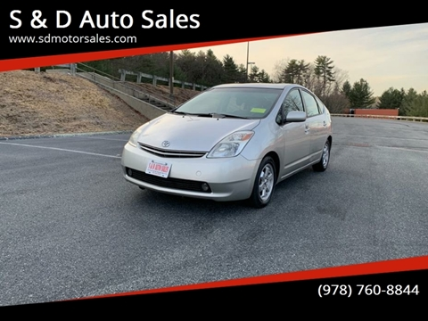 2005 Toyota Prius for sale at S & D Auto Sales in Maynard MA
