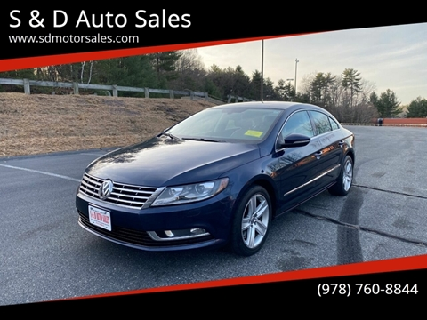 2013 Volkswagen CC Sport PZEV for sale at S & D Auto Sales in Maynard MA