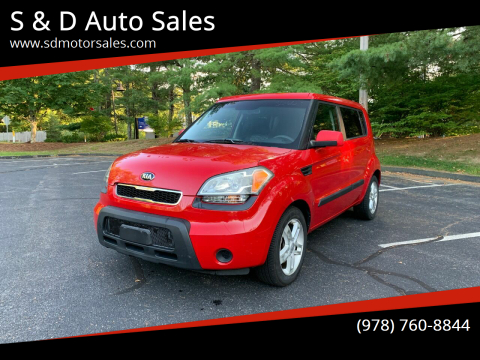 2010 Kia Soul for sale at S & D Auto Sales in Maynard MA