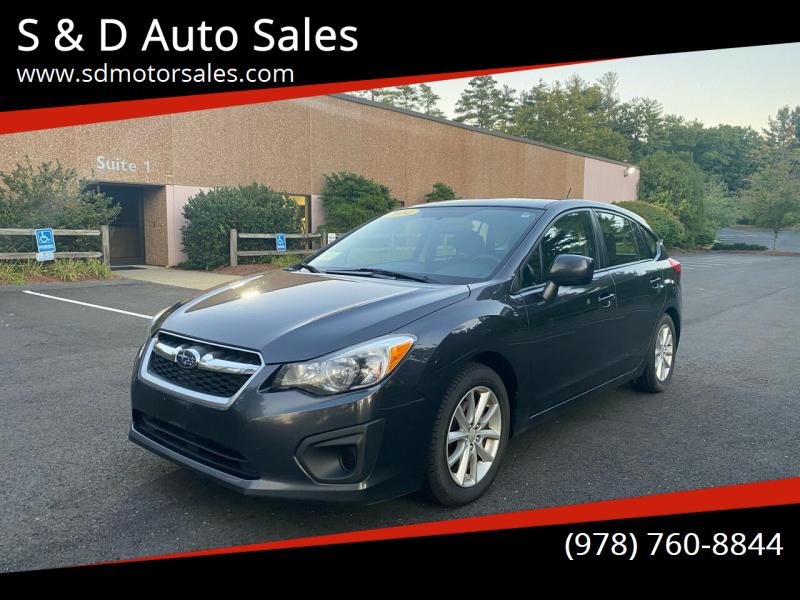 2014 Subaru Impreza for sale at S & D Auto Sales in Maynard MA