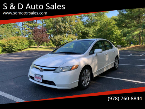 2007 Honda Civic for sale at S & D Auto Sales in Maynard MA