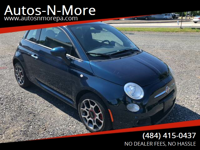 2015 Fiat 500 Sport In Gilbertsville Pa Autos N More