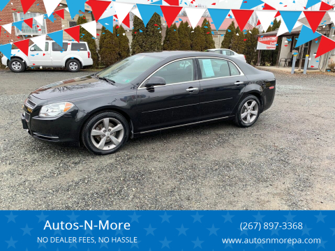 2012 Chevrolet Malibu for sale at Autos-N-More in Gilbertsville PA