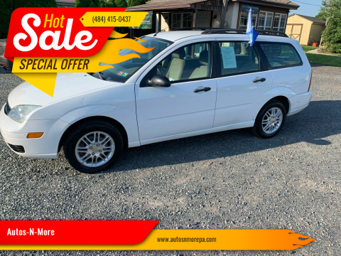 2007 Ford Focus for sale at Autos-N-More in Gilbertsville PA