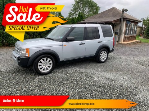 2006 Land Rover LR3 for sale at Autos-N-More in Gilbertsville PA