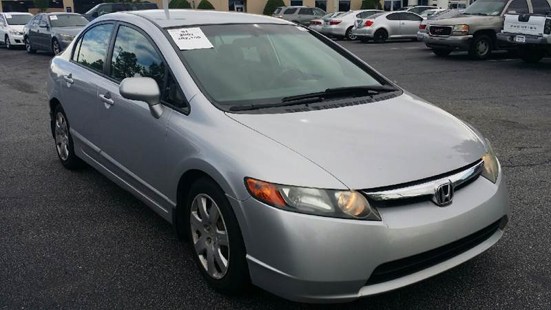 2007 Honda Civic For Sale At Dynamic Auto Sales In Mauldin SC