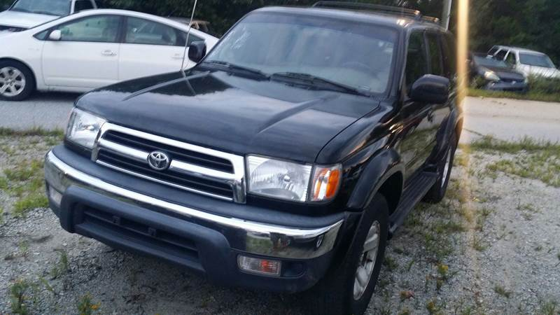 2000 Toyota 4Runner For Sale At Dynamic Auto Sales In Mauldin SC
