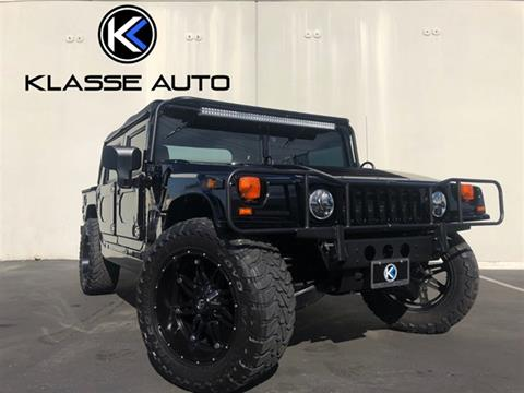 2000 AM General Hummer for sale in Costa Mesa, CA