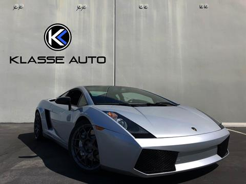 Used Lamborghini Gallardo For Sale In California Carsforsale Com