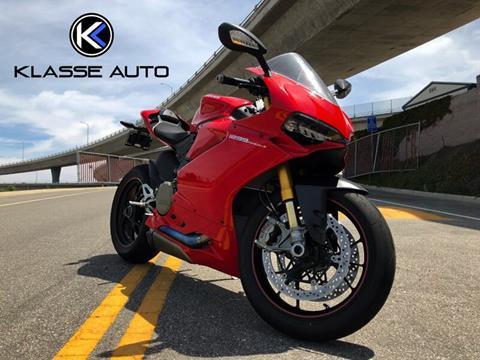 2017 Ducati 1299 Panigale for sale in Costa Mesa, CA