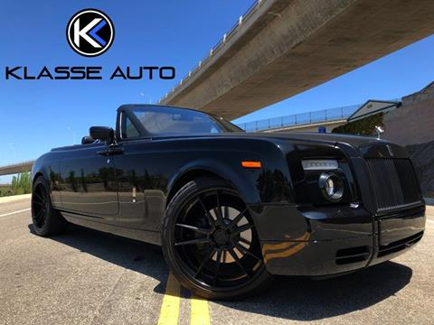 2009 Rolls-Royce Phantom Drophead Coupe for sale in Costa Mesa, CA