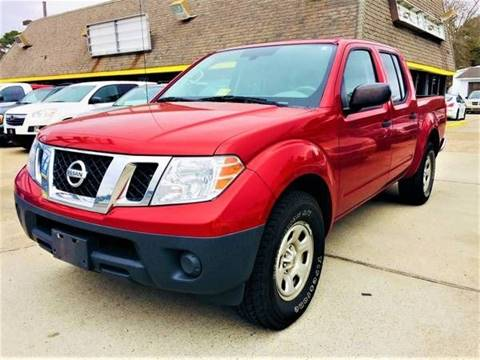 2012 Nissan Frontier for sale at Auto Space LLC in Norfolk VA