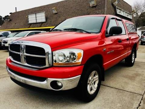 2006 Dodge Ram Pickup 1500 for sale at Auto Space LLC in Norfolk VA