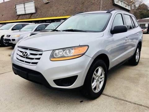 2010 Hyundai Santa Fe for sale at Auto Space LLC in Norfolk VA