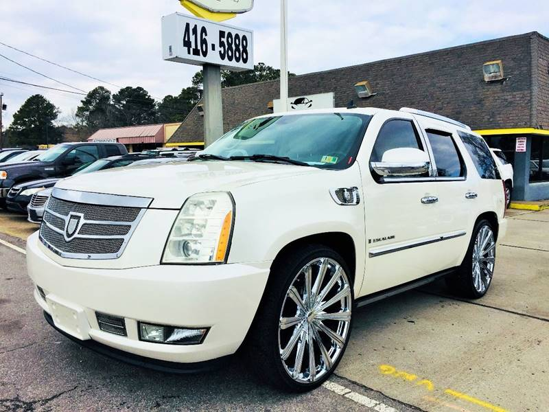 2007 Cadillac Escalade In Norfolk Va Auto Space Llc